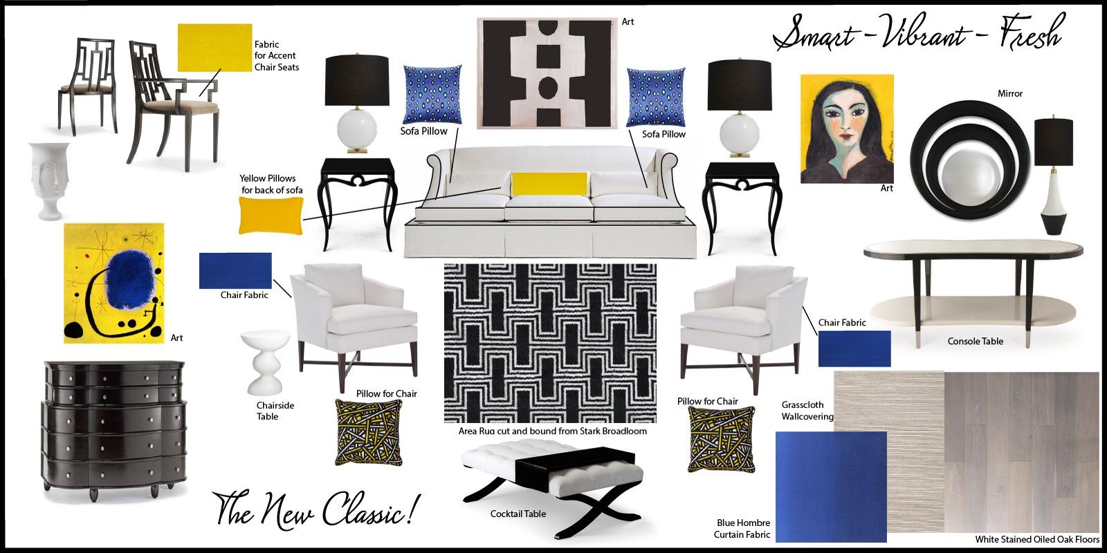 Interior design vision boards by nora stewart interiors for Home design vision board