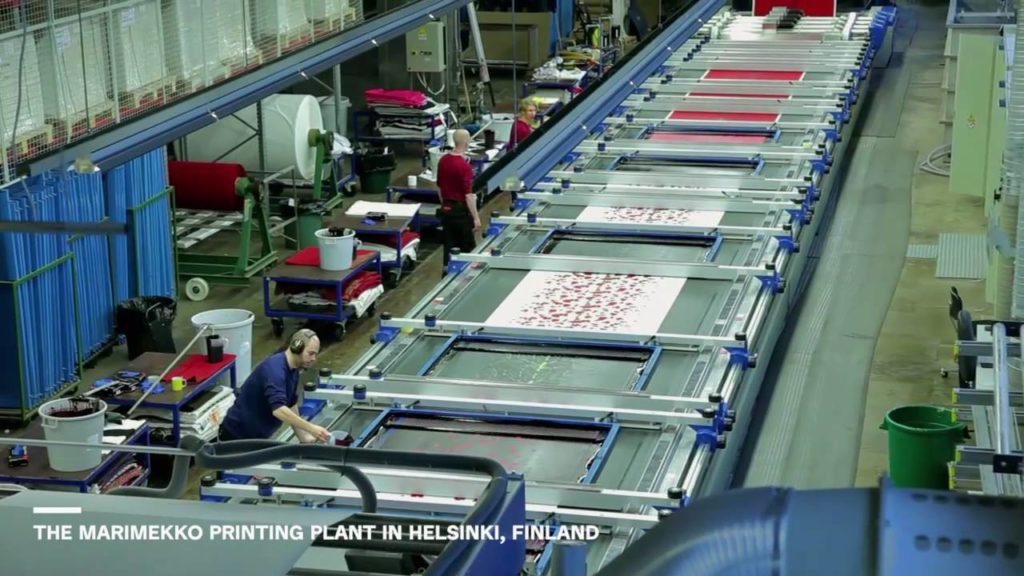 how fabrics are printed, hand silk screen, block printed fabrics
